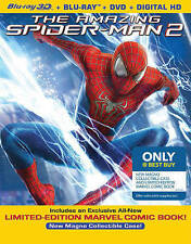 The Amazing Spider-Man 2 (Blu-ray/DVD, 2014, 3D Ultraviolet Only  Best Buy Comic