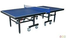 Professional Grade Table Tennis Folding Ping Pong Table with Locking Wheels