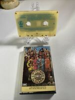 Rare India Label The Beatles Sgt Peppers Lonely Hearts Club Band Cassette Tape