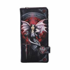 *VALOUR* Fairy Dragon Maiden Fantasy Art Embossed Purse By Anne Stokes