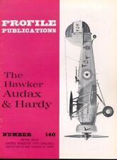 AIRCRAFT PROFILE 140 HAWKER AUDAX HARDY RAF EGYPT IRAN IRAQ RCAF REAF SAAF RIAF