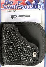 """DeSantis Super Fly Pocket Holster w/Flap Ruger LCR 1 7/8 LCRX; Colt Detective 2"""""""