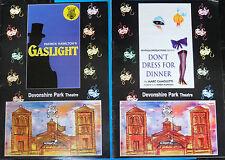 x2 DEVONSHIRE PARK THEATRE EASTBOURNE GASLIGHT DON'T DRESS FOR DINNER NEWPALM 97