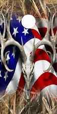 American Deer Tallgrass Duck Cam Cornhole Wrap Bag Toss Skin Decal Sticker Wraps