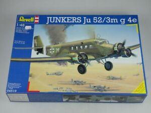 Revell 04519 1/48 39,3cm JUNKERS Ju 52/3m g 4e prop plane Kit + Box 117725