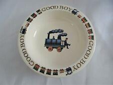 Emma Bridgewater National Trust Victorian Nursery Collection GOOD BOY Bowl Train