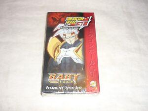 Rare 2004 Dragon Ball GT TCG Baby Saga Randomized Starter Deck W/ Cards SEALED