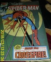 "MARVEL COMICS  ""WEB OF SPIDER-MAN"" VOL 1 # 14   ""ALL THAT GLITTERS"" CROSSFIRE!"