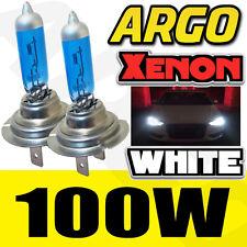 H7 100W XENON SUPER BRIGHT WHITE BULBS 8500K X 2 / PAIR