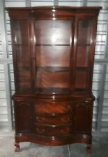 Gorgeous Mahogany Chippendale China Cabinet
