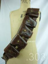 1942 WWII South African Army Military 1903 Pattern .303 Bandolier