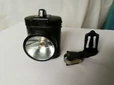 Vintage Ever Ready front bicycle lamp with bracket metal British black