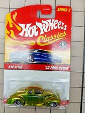 Hot Wheels '40 Ford Coupe Anti Freeze Green HW Series 2