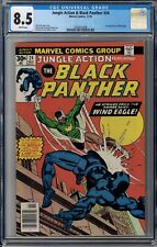 Jungle Action featuring Black Panther #24 CGC 8.5 1st Appearance of Windeagle