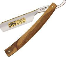 Giesen & Forsthoff Barber Straight Razor Carbon Steel Blade Salon Maplewood Lion