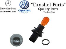 Mercedes Sprinter Wing Mirror Indicator Repeater Lens Lamp Orange Bulb & Holder