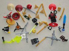 Pieces pour Personnages LEGO NINJAGO minifig accessories / Katana ..etc