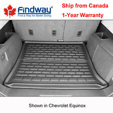Black All Weather 3D Cargo Liner / Trunk Mat for 2010-2017 Chevrolet Equinox
