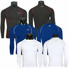Mens Tight Long Sleeve T-Shirt Sport Gear Compression Base Layer Tops Jersey Tee