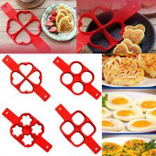 Pancake Shape Egg Ring Maker Nonstick Easy Egg Omelette Mold Kitchen Heart Oval