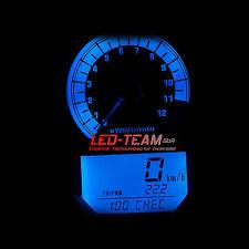 Suzuki SV 650/1000 BJ 03-08 Tachobeleuchtung Tacho Umbau LED Set BLAU LED-Team