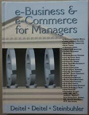 NEW e-Business & e-Commerce for Managers Hardcover Book by Dietel & Steinbuhler