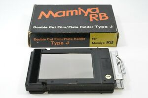*Excellent+++* Mamiya RB67 Double Cut Film Plate Holder Type J from Japan 1
