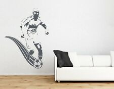 Soccer Player - Highest Quality Wall Decal Stickers