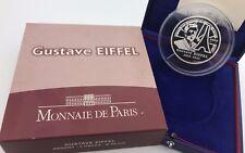 France 2009 Gustave EIFFEL 50 euros € Silver Proof 5 Oz - Frankreich Silber