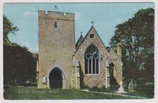 Wales postcard - Builth Church - P/U 1907
