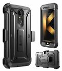 For LG K20 Plus Case, SUPCASE UB PRO Rugged Holster Cover with Screen Protector