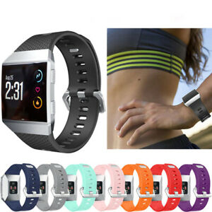 For Fitbit Ionic Sport Silicone Replacement Wrist Watch Band Strap Bracelet