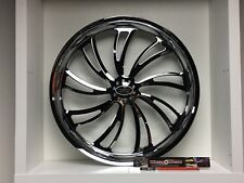 "09 up Harley Davidson 21"" front Wheel Custom Chrome Wheel Style 119c"