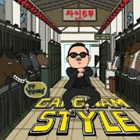 PSY - GANGNAM STYLE (2-TRACK)  CD SINGLE POP TECHNO NEU