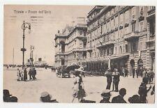 CARTOLINA - 1924 TRIESTE PIAZZA DELL'UNITÀ RIF. 753/C