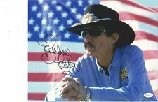 Richard Petty signed 11x14 photo comes with JSA COA