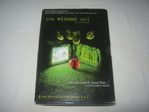One Missed Call Collection - 4 Disc Set - VGC - R1 - DVD
