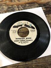 "Bobby (Boris) Pickett Monster Mash vtg. vinyl 45rpm 7"" 1962 first US press"