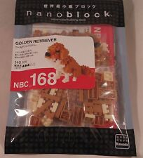 Kawada Nanoblock Mini GOLDEN RETRIEVER - japan building toy block NBC_168 New