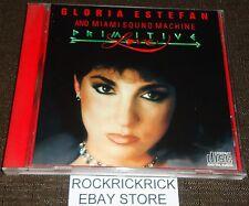 GLORIA ESTEFAN AND MIAMI SOUND MACHINE - PRIMITIVE LOVE -10 TRACK CD-