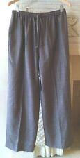 Eskandar Wool Silk Linen Brown/White Tweed Pant