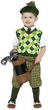 CHILD FUTURE GOLFER ARGYLE VEST HALLOWEEN COSTUME DRESS SIZE 4-6 GC9658