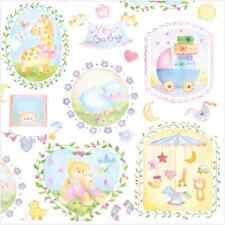 20 Lunch Paper Napkins NEW BABY Decoration DECOUPAGE White Delicate 33x33 cm / D