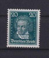 DR 392 X Berühmte Deutsche 20 Pfg. postfrisch geprüft HD Schlegel (bt178)