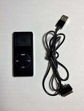 Apple iPod nano 1st Generation Black (2 GB) Used A1137 TESTED