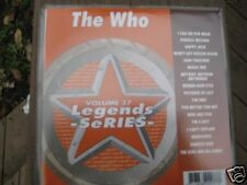 THE WHO Legends Karaoke CDG MAGIC BUS Happy Jack PINBALL WIZARD Behind Blue Eyes
