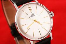 Russian USSR luxury style wrist watch Luch De Luxe 2209 ULTRA SLIM OLD stock!
