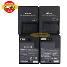 Used Original Nikon MH-24 Charger for D3200 D3400 D5300 D5500 D5600 Df EN-EL14a