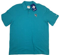 Vintage Reebok Original Hang Tags Florida Marlins Polo T-Shirt Aqua Size XL