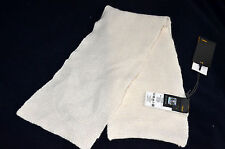 Nwt Authentic Fendi Girl's Beige Cashmere Winter Scarf With Heart Design